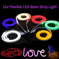 Neon Light 12V Waterproof LED Strip Lights SMD 2835 120LEDs/M Flexible Rope Tube Decoration for Wall Bedroom Christmas Holiday