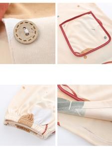 Image 5 - Bzel Thời Trang Nữ Bộ Đồ Ngủ Mặc Quần Lót 100% Cotton Dễ Thương Nữ Bộ Đồ Ngủ Ngắn Tay Quần Short Váy Ngủ Nhà Vải Dành Cho Nữ