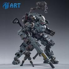Fortalecer joytoy aço osso armadura cinza mecânica coleção figura de ação modelo produto acabado frete grátis 1/25
