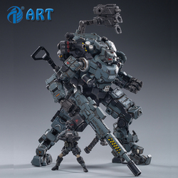 Strengthen JOYTOY Steel bone armour Grey Mechanical Collection Action Figure Model Finished Product Free Shipping 1/25