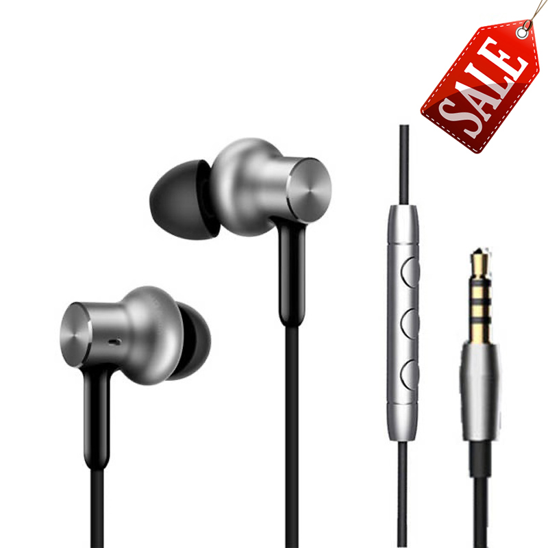 Original <font><b>Xiaomi</b></font> Earbuds Mi in-ear Hybrid Pro <font><b>HD</b></font> Oortelefoon <font><b>Earphone</b></font> with MiC Noise Canceling My <font><b>earphone</b></font> for Huawei Mi6 Red Mi4 image
