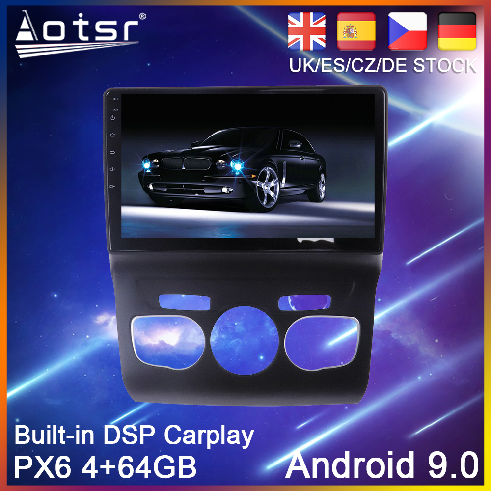 Android 8.1 Quad Core Car Stereo GPS Player Navigation For Citroen C4L 2013-2016