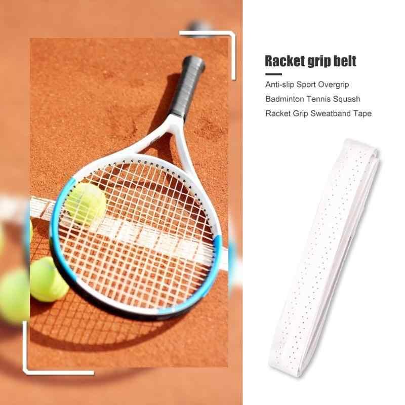 Wytrzymała taśma z opaską wielofunkcyjny antypoślizgowy Overgrip taśma z opaską Badminton tenis rakieta do squasha Grip Overwrap