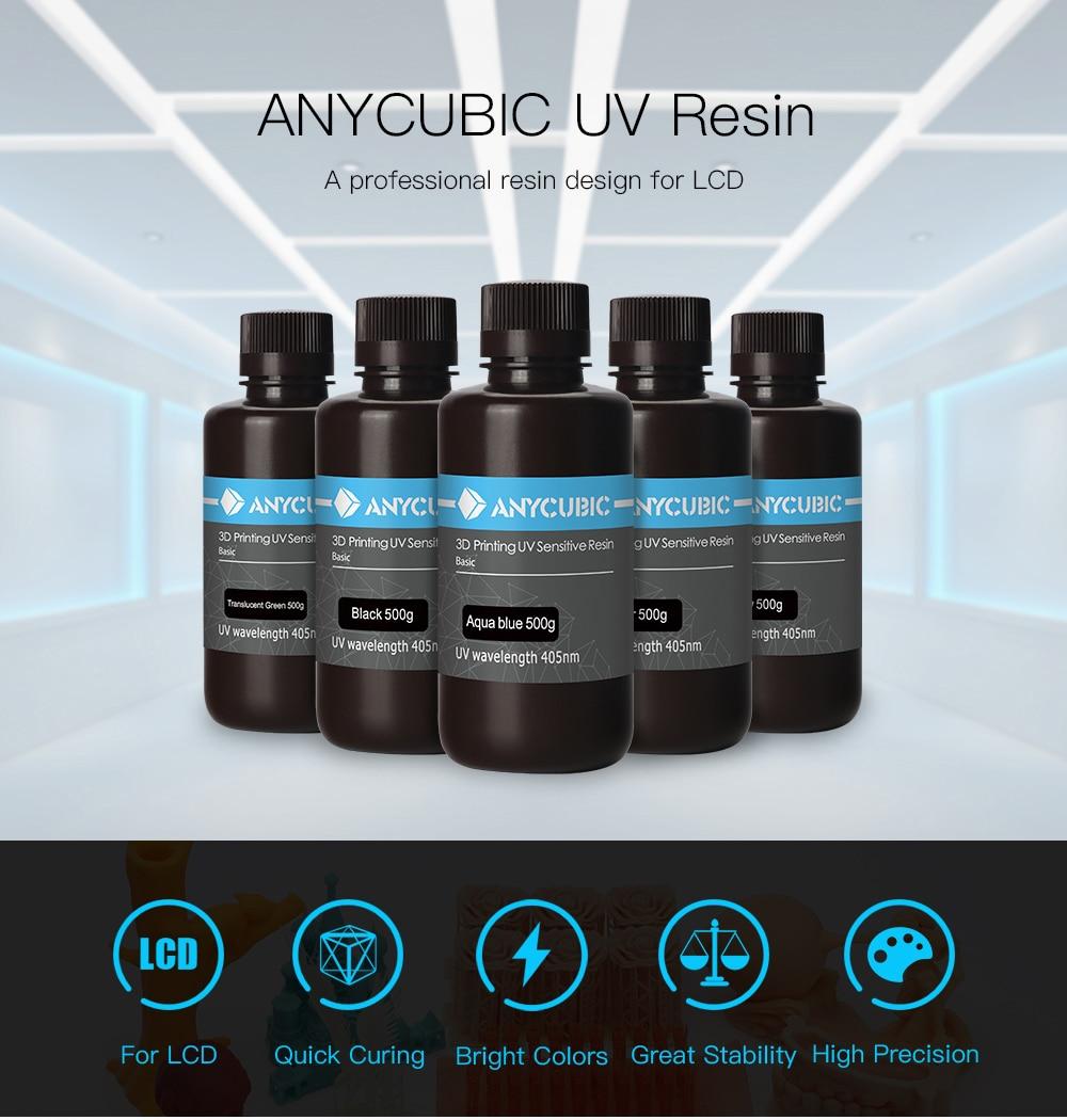 resine UV anycubic