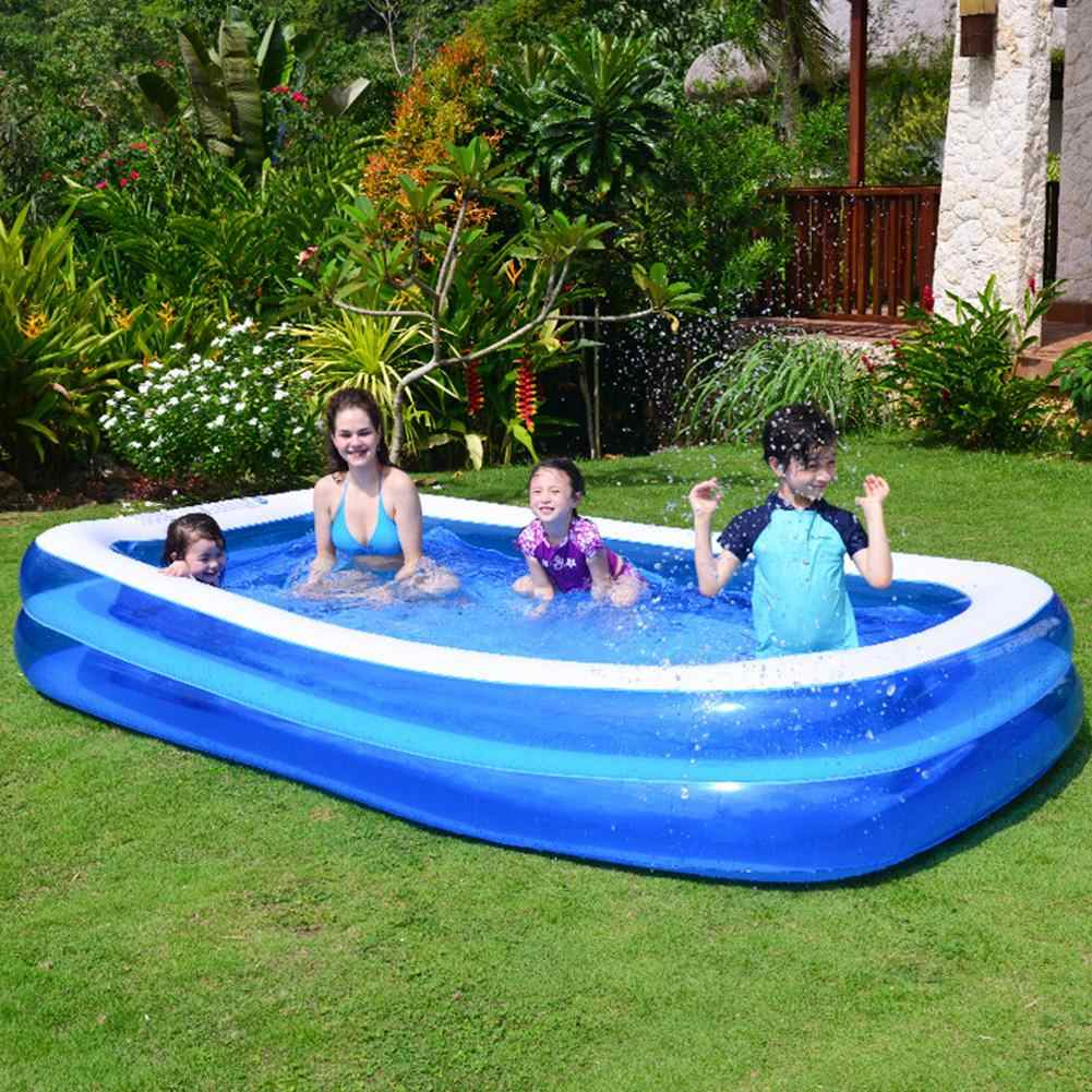 Big Inflatable Swimming Pool For Adults Kids Pool Bathing Tub Outdoor Indoor Home Swim Pools Household Baby Wear Resistant Thick Pool Accessories Aliexpress