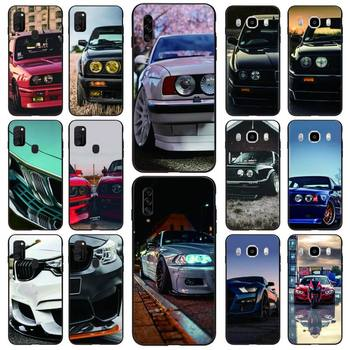Red And Blue Bmw Car Phone Case Black For Samsung S10 5G/lite/plus S20/Plus/Ultra Note8/9/10/20Pro/plus Cases image