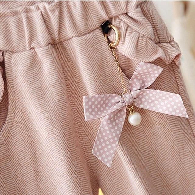 Girl's Pants with Polka Dot 5