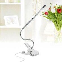 Светодиодный светильник может поворачиваться на 360 градусов. Использование источника питания USB для увеличения длины кабеля на 130 см 15