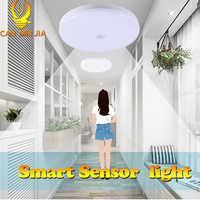 Luces Led de techo de 220V, 12W, 18W, 50W y 20W, lámpara de techo con Sensor de movimiento, accesorio de iluminación, montaje en superficie para sala de estar y dormitorio