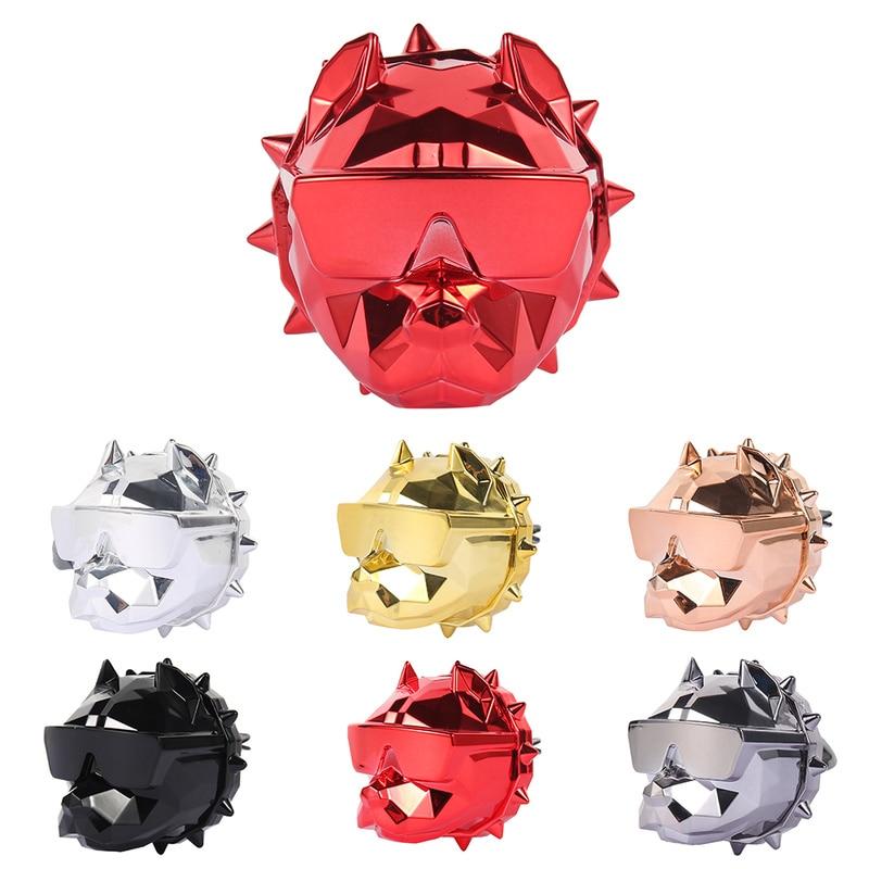 2020 Creative Bulldog Car Air Freshener Perfume Clips Fragrance Diffuser Auto Vents Scent Parfum Bulldog Diffuser Car Decoration