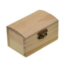 Boîte de rangement en bois de 90mm, étui pour Gadgets de bijoux, cadeaux artisanaux, jouets de bricolage pour enfants
