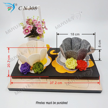 3D cup die cutting board muyu cutting die   new wooden mould cutting dies for scrapbooking  CN308