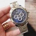 Роскошные мужские часы BOSS, многофункциональные кварцевые часы с хронографом, ремешок из нержавеющей стали, водонепроницаемые дизайнерские...
