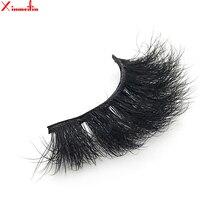100% 3D real mink hair lashes wholesale natural long individual thick fluffy soft false eyelashes makeup dramatic J012