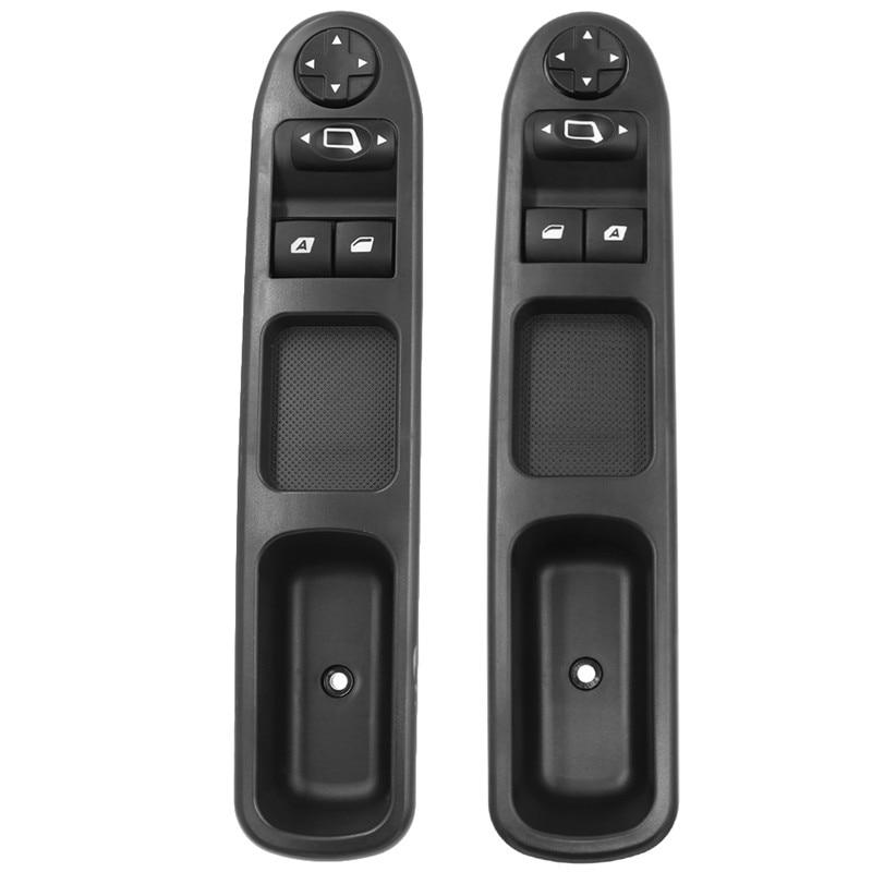 6554.QC Frente Direita Esquerda Motorista Side Interruptor de Controle Mestre Janela de Energia para Peugeot 207 para Citroen Picasso C3 2007- 2014 6554QC