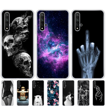 Case Voor Honor 20 Silicon Back Cover Phone Case Voor Huawei Honor 20 Pro Lite YAL L21 YAL L41 Luxe Cover Volledige 360 Beschermende