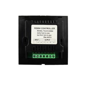 Image 5 - Interrupteur de contrôleur de lumière, nouvel interrupteur de panneau tactile, interrupteur de variateur de lumière, couleur unique/CT/RGB/RGBW, interrupteur mural en verre trempé