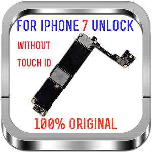 Image 2 - 32gb / 128gb / 256gb for iphone 7 Motherboard With/Without fingerprint ,100% Original unlocked for iphone 7 Logic boards