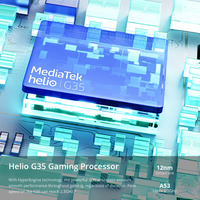 "Russian Version realme C21 Smartphone Helio G35 Octa Core 64GB 6.5""display 5000mAh battery 3-Card Slot 5"