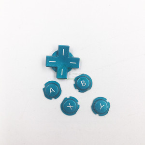 Image 4 - Original Used ABXY D pad button Direction Cross button replacement for nintendo 3DS game console repair part