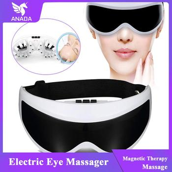 цена на ANADA Electric Eye Care Tool Massager Magnet Therapy Relax Vibration Anti Wrinkles Alleviate Acupres Protect  Smart Eye Massager