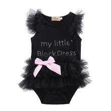 Baby Bodysuits Baby Girls Clothes Lace Ruffles Sleeve Bodysuit