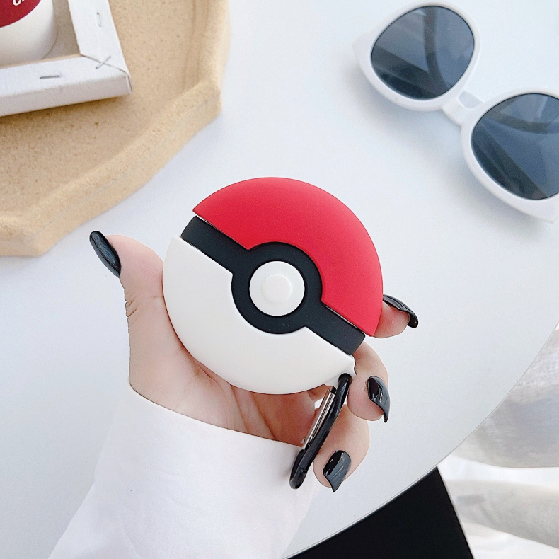 Cute 3D Silicone Case for AirPods Pro 4