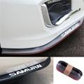Защитные накладки на передние бампера  для тюнинга  сплиттер  Резиновая лента  Углеволокно  отделка юбки  Стайлинг автомобиля