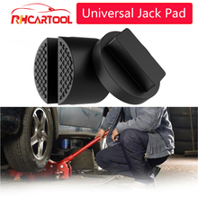 Car Lift Jack Stand Rubber Pads Black Rubber Slotted Floor Jack Pad Frame Rail Adapter for BMW for Audi for Benz for Toyota