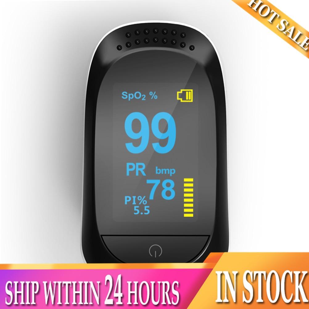 HOT Fingertip Pulse Oximeter LED Digital Display For Gauging Pulse Rate Blood Oxygen Saturation Ward Monitoring Home Health Care