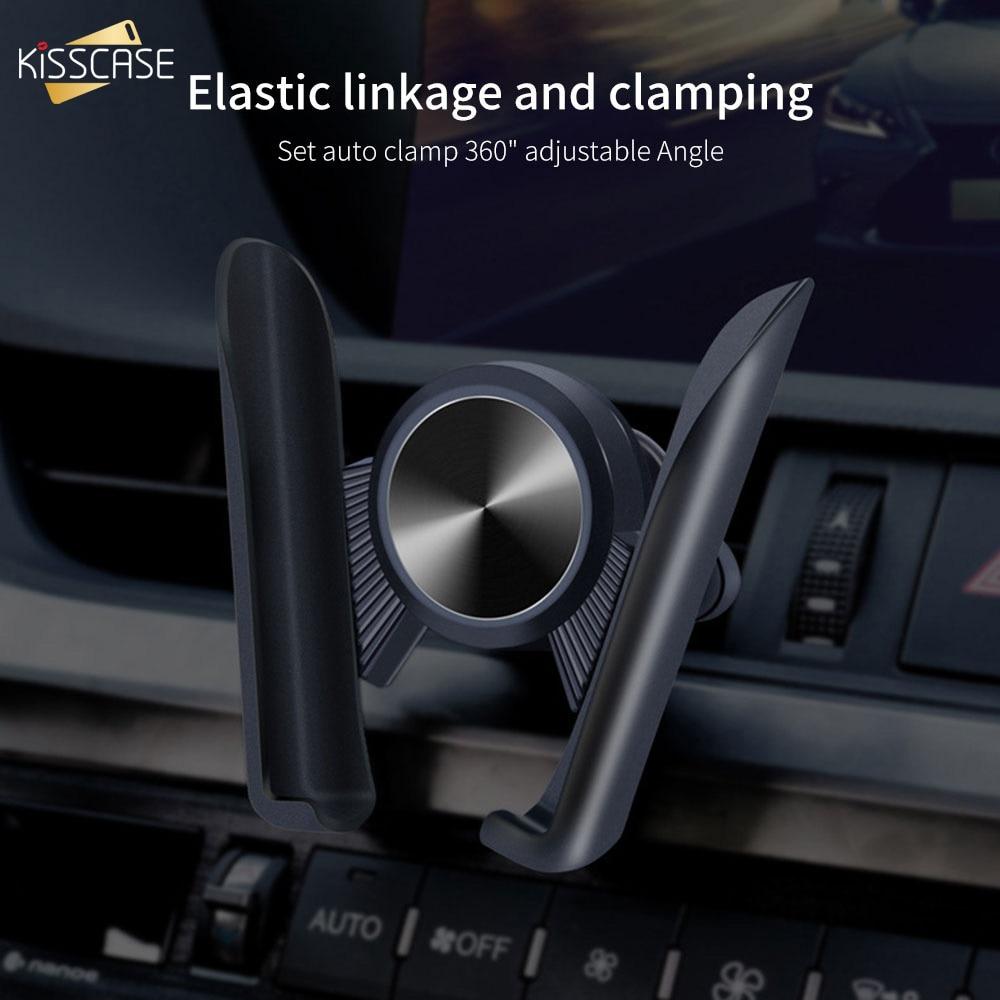 Car Accessories 360° Adjust Bracket Air Vent Mount Phone Holder Cradle Stander