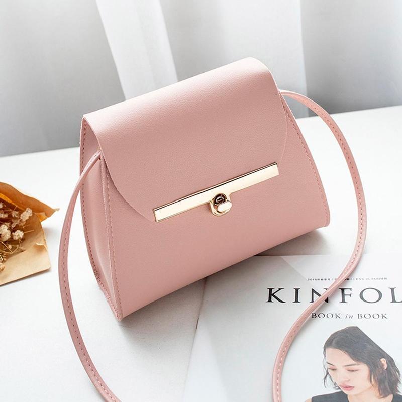 Fashion Women Handbag Crossbody 2019 Buckle Small Tote Bag Ladies  Shoulder  Messenger Bag Luxury Women Bags Mini Coin Purse Sac