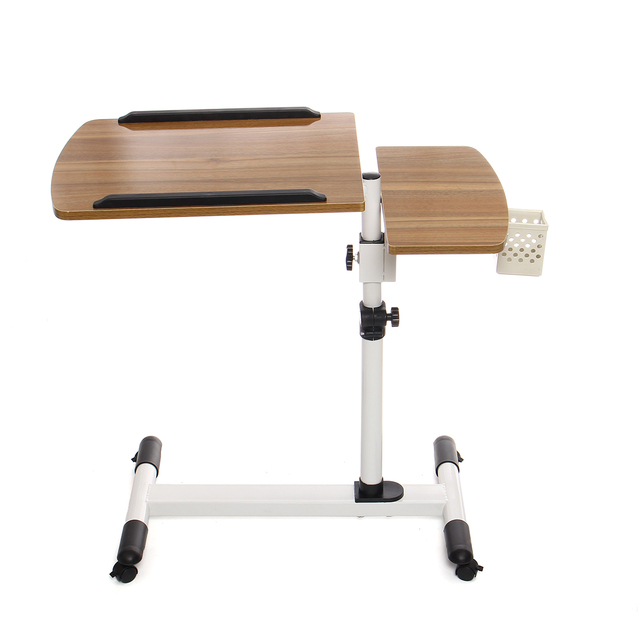 Adjustable Angle And Height Rolling Desk Stand  3