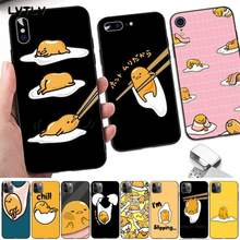 LVTLV Cartoon Gudetama Lazy Egg Fitted Soft Phone Case Capa for iPhone 8 7 6 6S Plus X 5S SE 2020 XR 11 12 pro XS MAX(China)