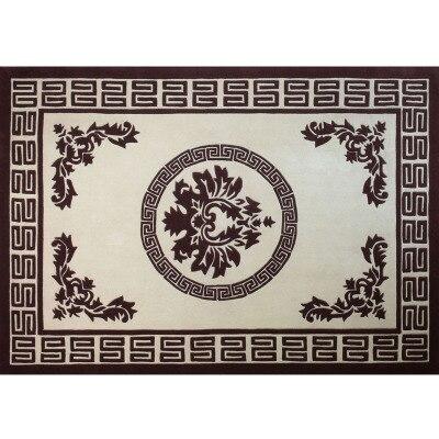 Grands tapis de laine tissés à la main de haute qualité pour salon tapis de laine chinoise chambre enfants tapis épais tapis de sol doux en peluche - 6