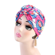 12pcs/lot African Pattern Women Headwrap Bandana Headwear Ladies Multicolor Hair Scarf Printed Knot Vortex Turban Milk Silk Hat