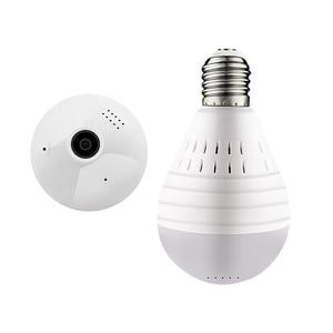 Image 1 - IP מצלמה 360 תואר LED אור 960P אלחוטי פנורמי בית אבטחת אבטחת WiFi CCTV Fisheye הנורה מנורת שתי דרכים אודיו