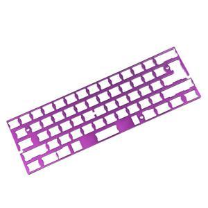 Image 5 - Support universel de plaque de positionnement en aluminium anodisé ISO ANSI pour GH60 PCB 60% clavier bricolage livraison gratuite