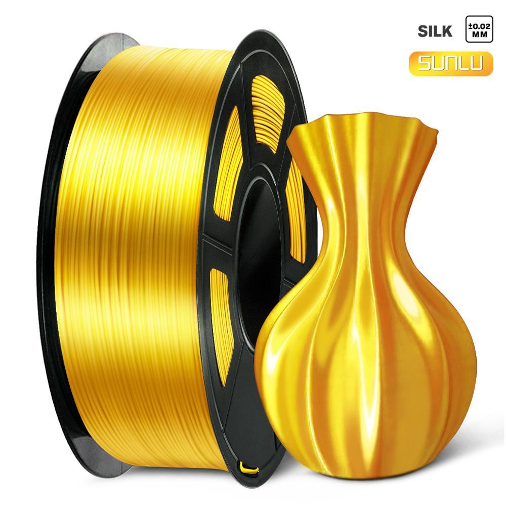 Нить для 3D-принтера PLA Silk Gold, 1 кг, 1,75 мм