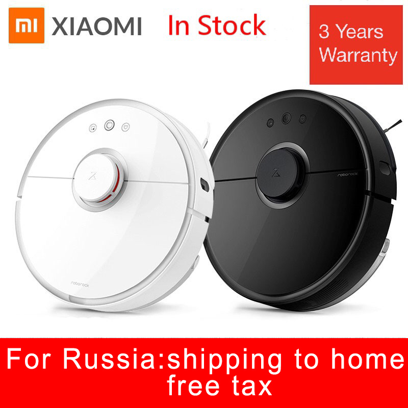 <font><b>Roborock</b></font> <font><b>S50</b></font> S55 <font><b>Xiaomi</b></font> Vacuum Cleaner <font><b>2</b></font> for Home Wet Mopping Carpet Dust Cleaning Sweeping Path Planned Smart Robotic Mi Robot image