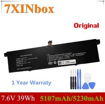 "7XINbox 7.6V 39Wh 5107mAh/5230mAh Original R13B01W R13B02W Laptop Battery For Xiaomi Mi Air 13.3"" Series Tablet 1"