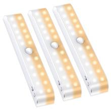 Super Bright USB Rechargeable 20 LED Motion Sensor Closet Li