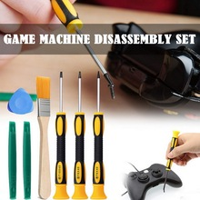 цена на 8Pcs/Set Torx T8 T6 T10 H35 Screwdriver Opening Tools Set Repair Tool Kit Screw Driver Pry For  Xbox 360 PS3 PS4