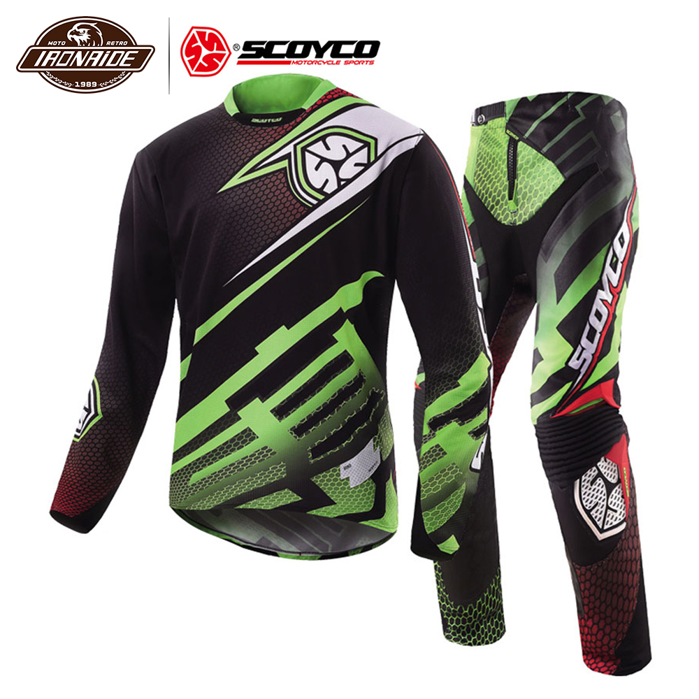 Clrarance SCOYCO Summer Motorcycle Jacket Motocross Suit Professional Motorcycle Jersey Racing T-Shirt Riding Off-road Clothing#