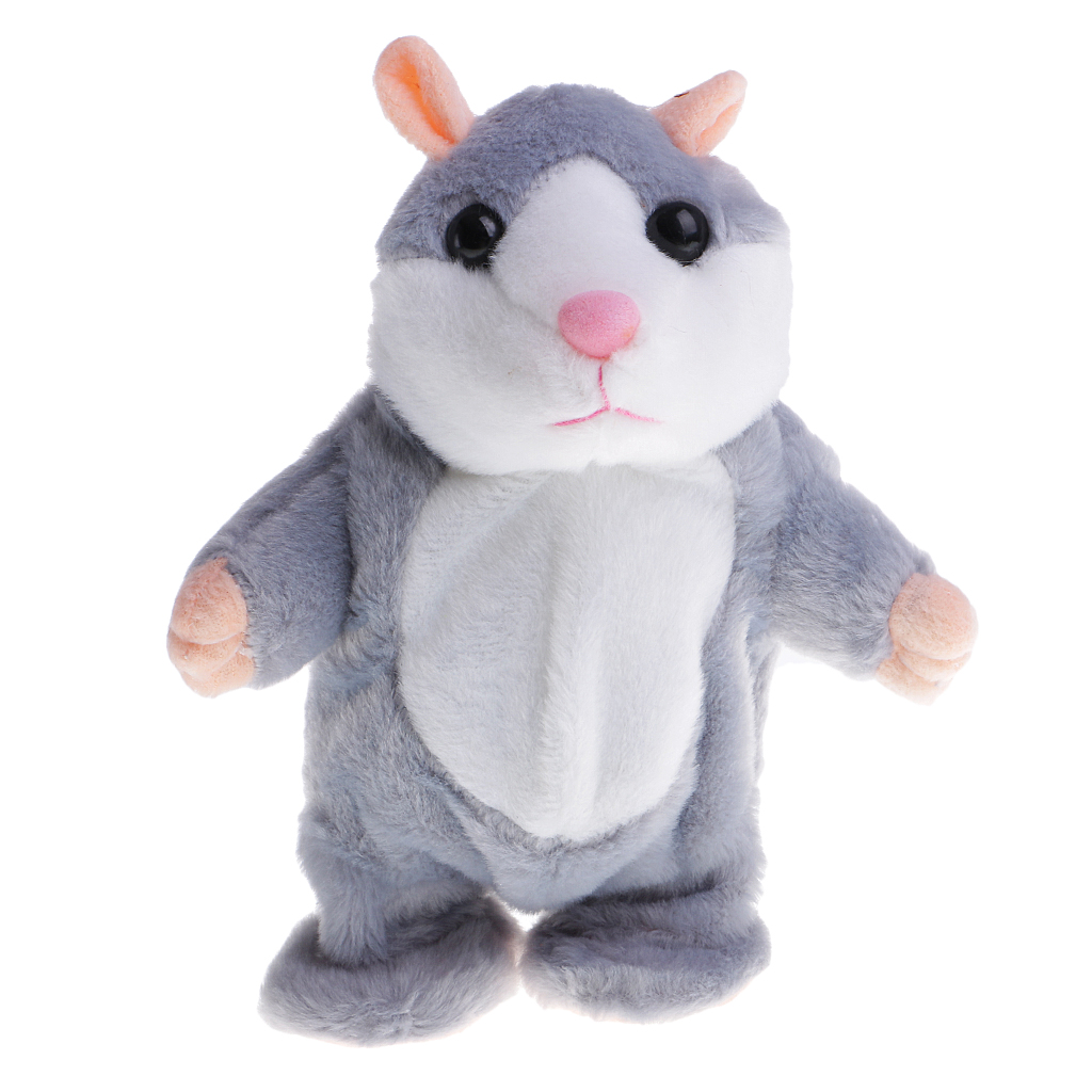 Plush-Toy Hamster Mouse-Pet Sound-Mimic-Recorder Talking Kids Magideal for Children Baby