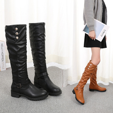 European and American high boots in autumn winter
