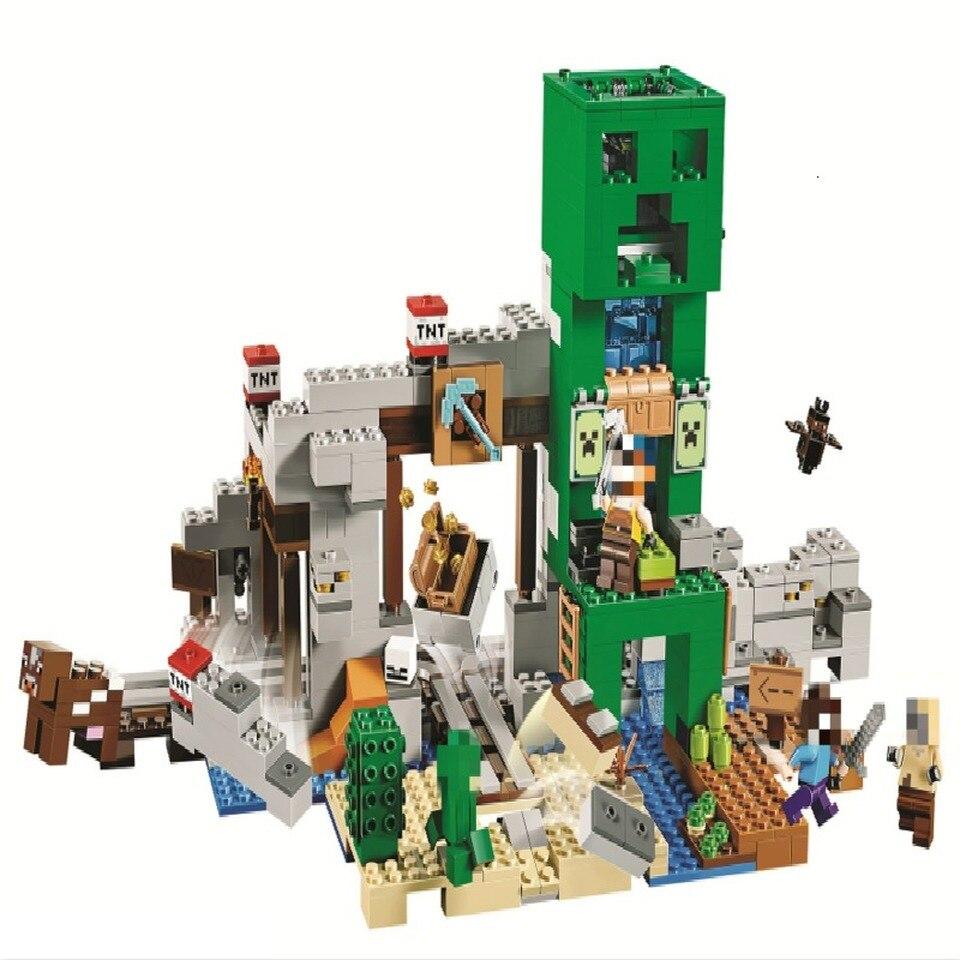 For, Legoinglys, pcs, Children, Creeper, Blocks