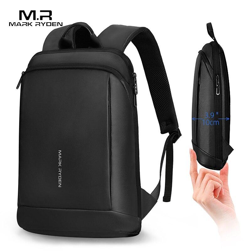 Mark Ryden Ultralight Laptop Backpack Men 15.6 Inch Office Work Slim Men Backpack Business Bag  Backpack Thin Back Pack