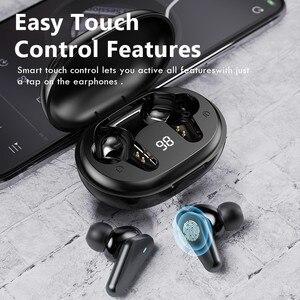 Image 4 - TWS Wireless Bluetooth Earphone Waterproof Sports Headphone 9D Hifi Stereo Mini Earbuds Noise Canceling Headsets With Microphone