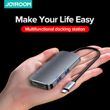 Cable-Adapter Joyroom-Hub TYPE-C To USB3.0 Expansion Ten-In-One Hdmi-Compatible PD